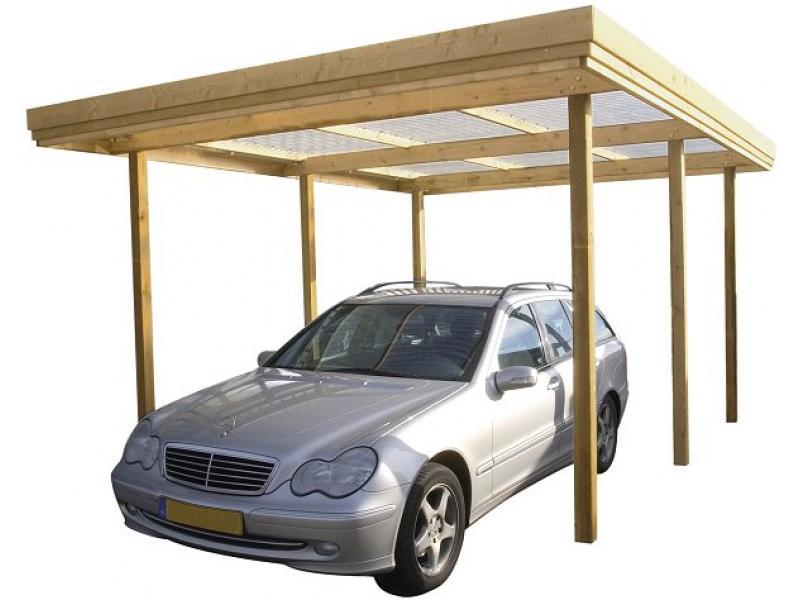 Carport bouwen - Freds bouwtekeningen
